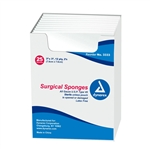 "Gauze 3""x3"" 12 ply (2's); STERILE (25/pack)"