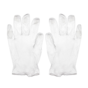 Vinyl Exam Gloves; Medium - Powder Free (100/box)