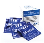 Adsafe Face Shield Foil 10/pack
