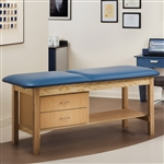 Clinton Industries 1013 Classic Series Treatment Table with Drawers