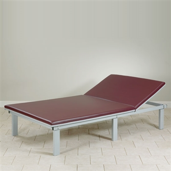 Clinton Upholstered Top Mat Platform with Adjustable Backrest