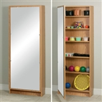 The Clinton Hide-A-Way Cabinet With Mirror