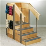 Clinton Staircase Storage Island