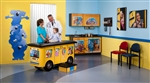 Clinton Zoo Bus Complete Pediatric Exam Room Package
