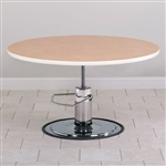 Clinton Round Top Hydraulic Table