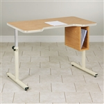 Clinton Personal Work Table with Small Cut-Out & Tilt-Top