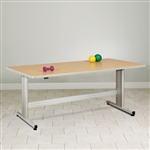 Clinton Group Therapy Table with Electric Height Adjustment