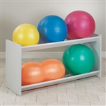 Clinton Double Level Ball Storage Rack