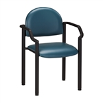 Clinton Industries Black Frame Chair With Arms