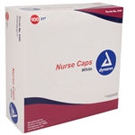"Nurse Cap O.R. 21"" - Assorted Colors (100 per box)"