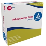 "Nurse Cap O.R. 24"" - Assorted Colors (100 per box)"