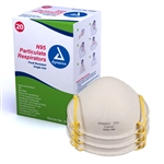 N95 Particulate Respirator Mask, molded (20 per box)