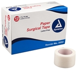 "Paper Surgical Tape, 1""x10 Yds (12 rolls per box)"