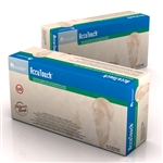 AccuTouch Latex Exam Gloves - P/F PolyLined - X-Small 10/100/Cs
