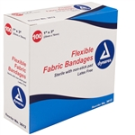 Dynarex 3612 Adhesive Fabric Bandages Sterile