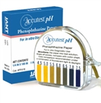 Accutest pH Phenaphthazine Paper (100 per box)