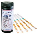 10 Parameter Urine Reagent Strips (100/bottle)