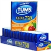 Tums Extra Strength 750 Assorted Fruit Antacid (3 Packs) (Pack of 12 x 3 Packs)