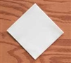 Hoffmaster Linen-Like Beverage Napkins / 125 / White