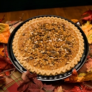 This is the ultimate pie experience! Great Southern Pecan Pie married to chocolate and caramel.