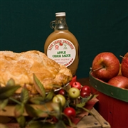 Our famous Apple Pie with hot Cider Sauce drippin' over the top will make every day a holiday!