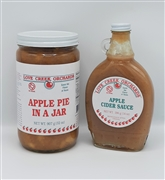 Apple Pie In A Jar and Cider Sauce