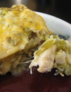 FROZEN DEC 18 - Green Chicken Enchiladas w Cabbage Pico de Gallo & Cilantro Creme