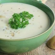 FROZEN  - Jerusalem Artichoke Bisque with Lemon Parsley Gremolata - Serves 2 Adults