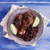 FEB 5th -	Cuban Mojo Chicken with Black Beans & Mashed Summer Squash