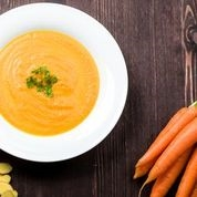 FROZEN  - Gingered Local Carrot Soup with Coconut Milk - Serves 2 adults