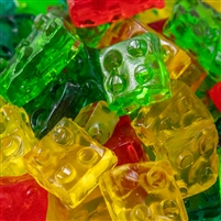 3-D Gummi Blocks - 8 oz Bag