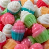 3-D Gummi Cupcakes - 8 oz Bag