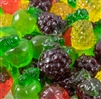 3-D Gummi Fruit - 8 oz Bag