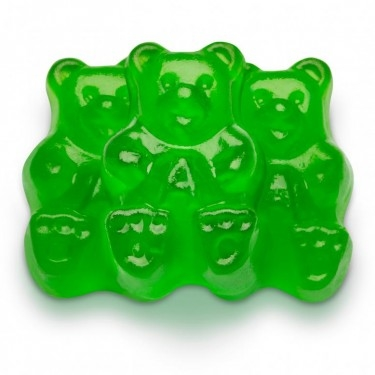 Green Apple Gummi Bear