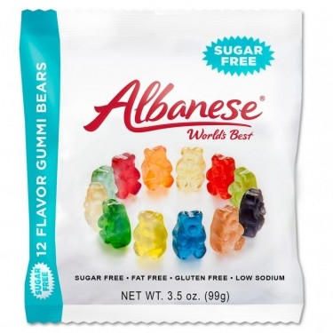 Sugar Free Gummi Bears 3.5oz Bags 12 CT