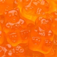 Orange Gummi Bear - 5 LB Bag