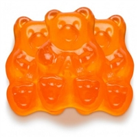 Orange Gummi Bear
