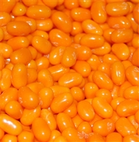 Jelly Belly Tangerine Jelly Beans - 5 LB Bag