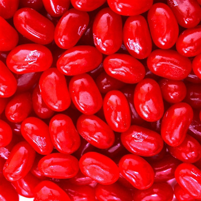Jelly Belly Very Cherry Jelly Beans - 5 LB Bag
