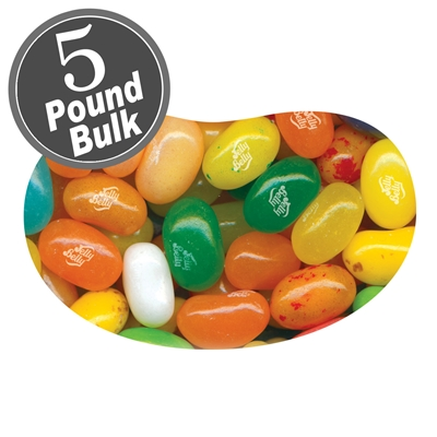 Jelly Belly Tropical Mix Jelly Beans - 5 LB Bag