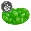 Jelly Belly Sunkist Lime Jelly Beans - 5 LB Bag