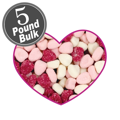 Jelly Belly Petite Sour Hearts - 5 LB Bag