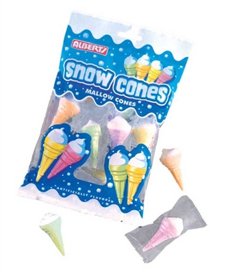Marshmallow Cones (10 pieces per bag)