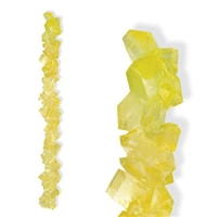 Lemon Rock Candy - 5 LB Box