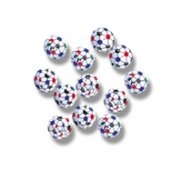 Foiled Milk Chocolate Soccer Balls - 1 LB Bag