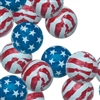 Foiled Milk Chocolate Stars-N-Stripes Balls - 1 LB Bag