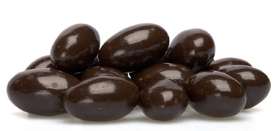 72% Dark Chocolate Almonds - 1 LB Bag