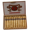 Gold Foiled Milk Chocolate Cigars - Box of 24