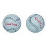 Foiled Milk Chocolate Baseballs - 5 lb Bag