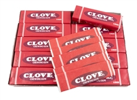 Clove Chewing Gum -  20 Packs per Box